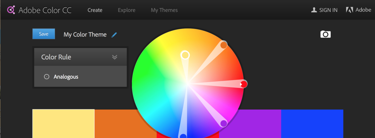 Adobe Color (Formerly Adobe Kuler)