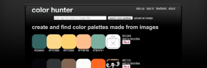 Color Hunter is unique in that it requires an image for you to have similar color schemes