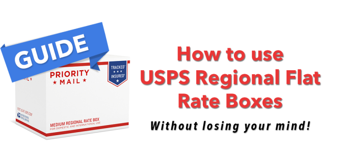 how to use priority flat rate box regional