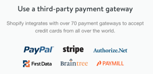 shopify picture of payment gateways