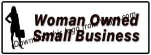 free downloaf woman owned small business logo