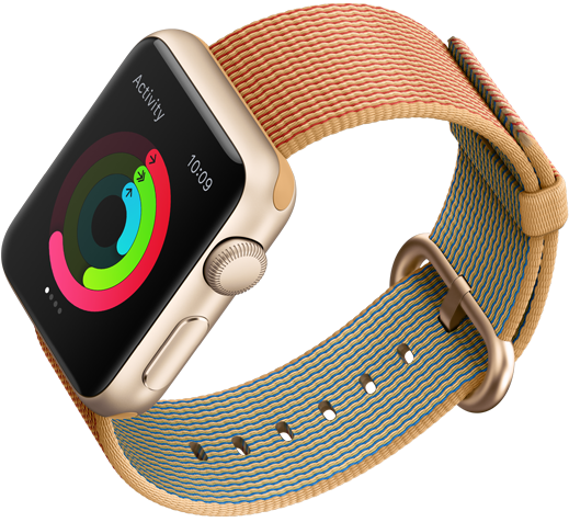 apple watch with band