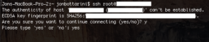 terminal window for mac